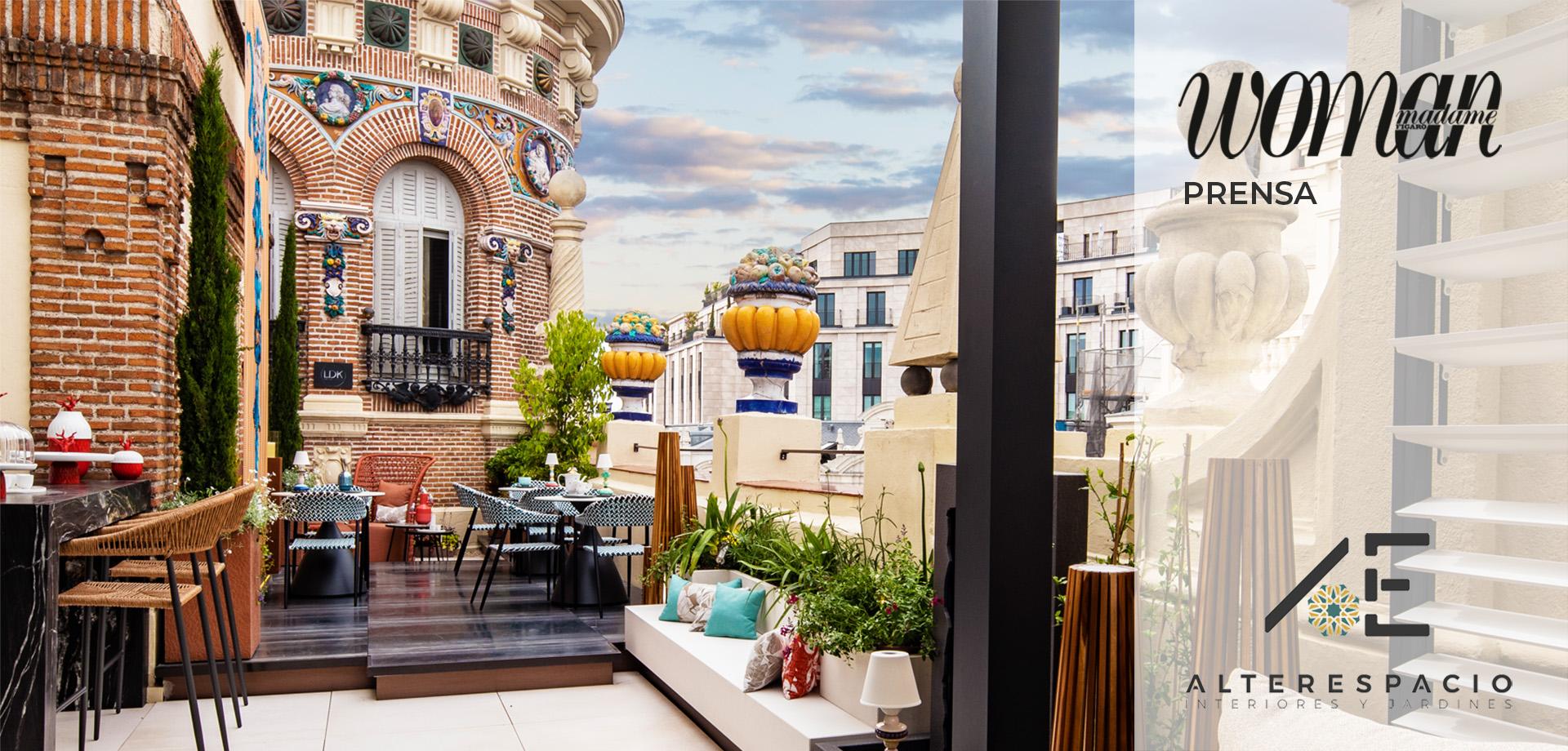 Prensa_Woman_LDK_Casadecor-2021_terraza_Alterespacio_decoración-de-jardines-terrazas_paisajismo-Madrid_PORTADA